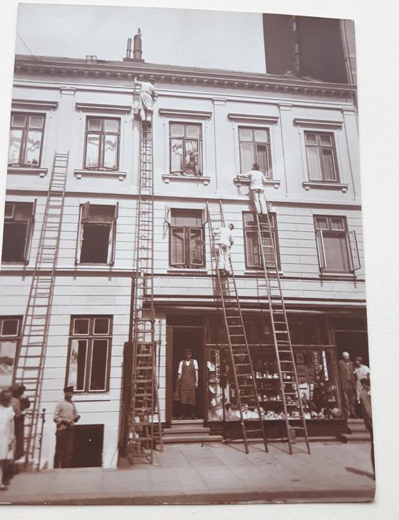 Geschichte: Milestones der Claus Hein Malereibetrieb GmbH – Hamburger Malerfirma seit 1910.