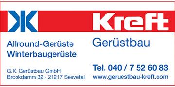Die G. K. Kreft Gerüstbau GmbH ist Netzwerk-Partner von der Hamburger Malerfirma Claus Hein.